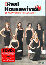 The Real Housewives of New York City: Season 3  (DVD, 2011, 5-Disc Set)