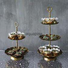 Vintage Retro Metal Cupcake Stand Wedding Party Display Cake Tower 2 / 3 Tier