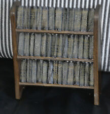 ALLIED NEWSPAPER SHAKESPERE FULL 30 MINIATURE BOOK LIBRARY LEATHER BOUND BOOKS