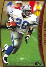 1998 Topps Barry Sanders Detroit Lions #1 Football Card NM
