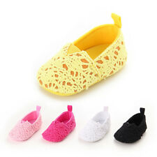 Lovely Princess Infant Toddler Girls Soft Sole Knit Casual Baby Shoes 0-18months