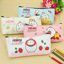 Cute Cartoon Rabbit Pencil Case Box Pen Storage Bag Pouch Cosmetics Makeup Bag