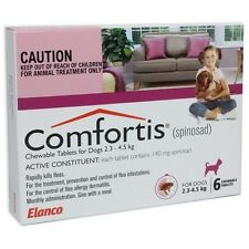 Comfortis Chewable Flea Tablets for Dogs - 6 Pack
