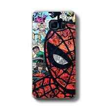 RETRO SPIDERMAN COMIC Hard Phone Case FITS SAMSUNG GALAXY MODELS