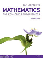 Mathematics for Economics and Business, Jacques, Ian - Seventh Edition