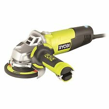 Ryobi CORDED ANGLE GRINDER 750W Fully Adjustable & Spindle Lock - 100mm Or 125mm