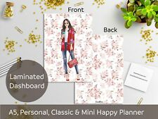 Coffee Girl - Laminated Dashboard - Mini and Classic Happy Planner, A5, Personal