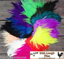 COCK SADDLES for FLY TYING 25 COLOURS TO CHOOSE FROM - CHEAPEST ON EBAY -
