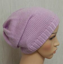 Knitted cancer hat, chemo bonnet, knit hair loss slouch beanie, slouchy hats