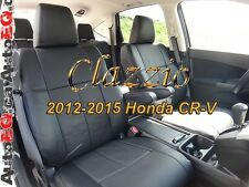 HONDA CRV CR-V 2012-2016 | CLAZZIO LEATHER SEAT COVER (1+2 ROWS)