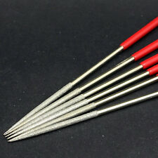 140mm Metal Needle Files Set Carving Jewelry Diamond Glass Stone Wood Craft Tool