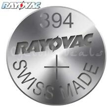 RAYOVAC 394 SR936SW Lithium Battery Swiss Watch Silver Oxide Cell 1.55V X 1,5,10
