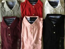 Tommy Hilfiger Polo shirt Custom fit Men different colors and Sizes NWT