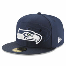 Seattle Seahawks New Era NFL Sideline 59FIFTY Fitted Hat - Navy