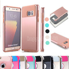 Shockproof Hybrid Rugged Rubber Glossy Hard Case Cover For Samsung Galaxy Note 7