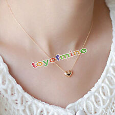 Fashion Necklace Lovely Simple Heart Shaped Necklace Pendant