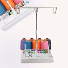 Embroidery Thread Spool Holder Stand for Sewing Machine three spool thread stand