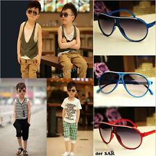 Child Cool Children Boy Girl Kids Plastic Frame Aviator Sunglasses Goggles