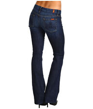 Womens 7 Seven For All Mankind A Pocket Blue Jeans and Flynt boot Size 28 and 25