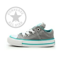 Gray Converse Chuck Taylor All Star Madison OX Infant Sneaker Shoes