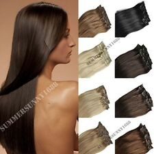 US Heat Resistant Synthetic Clip In Hair Extensions Compare With Haira Hair wpi1