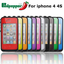 Redpepper Waterproof Shockproof Dirtproof Protective Case Cover For iphone 4+ 4s