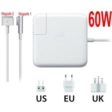 60W Magsafe1 Magsafe2 Power Adapter Charger A1344 A1435 For Apple MacBook Pro