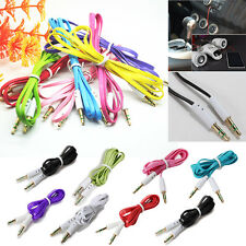 3.5mm New AUX Cord Male to Male Stereo Audio Car Cable Mobile Phones PC MP3  HOT