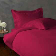 EGYPTIAN COTTON SHEET SET/DUVET/FITTED/FLAT/PILLOW SELCT SIZE HOT PINK 1000TC