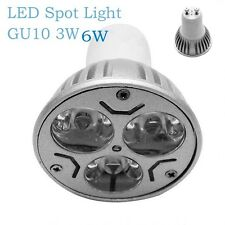 1X 3W GU10 LED Spotlight Bulb Lamp High Power AC85-265V Warm/Cold White Spot LED