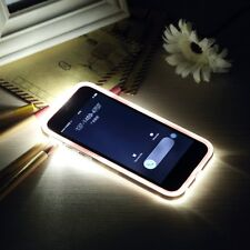New Incoming Call LED Flash Light Up Remind Cover Case Skin For iPhone & Samsung