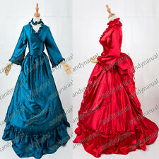 Victorian Bustle Period Dress Ball Gown Theatre Quality Halloween Costume