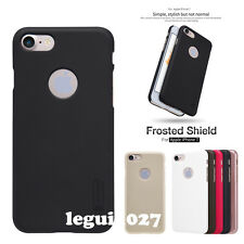 For iPhone 7 Nillkin Matte Frosted Back Cover Skin Case + Screen Protector Film
