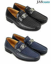 Mens Slip On Casual Shoes JAS Designer Loafers Smart Wedding Office Work UK Size