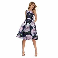 Debut Womens Multi-Coloured Floral Print Prom Dress From Debenhams