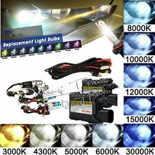 35W/55W Xenon HID Conversion Kit OR Bulbs H1 H3 H7 880 9005 4300k 6000k 8000k