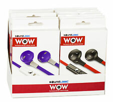 SoundLogic XT WOW Stereo Earbuds with Microphone & Volume Control