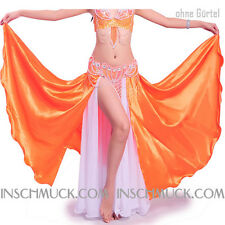 C236 Belly Dance Costume Skirt with Slits Tribal Fusion Belly Dance