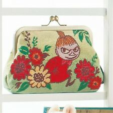 Moomin Little My Coin Wallet Cosmetic Bag Makeup Pouch Purse Case Japan B3548