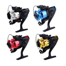 3 BB Ball Bearing Fishing Spinning Reels Gear Spool Fish Reel High Speed 5.2:1