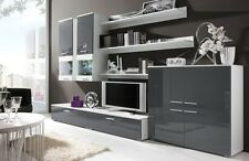 Wall unit TV STANDS Chest of drawes shelves hanging cabinets LED high gloss