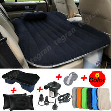 Heavy Duty Car Travel Inflatable Mattress Bed SUV Back Seat Extended Sleep Rest