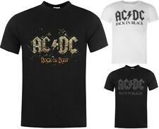 Official ACDC Logo Graphic Photo Exile T Shirt Short Sleeve Top ~Sizes S - XL