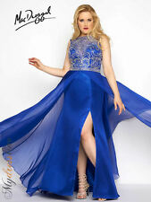 Mac Duggal 65489F Long Evening Dress ~LOWEST PRICE GUARANTEE~ NEW Authentic Gown