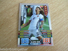 Match Attax *UNIQUE* COPA AMERICA James Rodriguez 101 100 Hundred Club Colombia