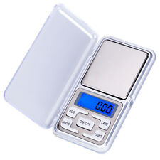 300g/500g x 0.01g Mini Digital Electronic Weight Scale Jewellery Pocket Gram LCD