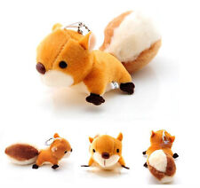 New Squirrel Stuffed Toy Ornaments Handbag Plush Toy Toy Pendant Doll Pendant