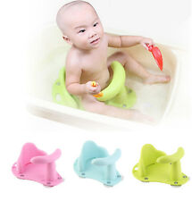 Child Toddler Kid Anti Slip Safety Chair 3 Colors Baby Bath Tub Ring Seat Infant