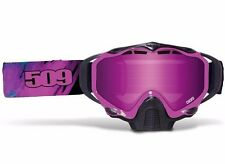 2016 509 Sinister X5 Goggles - AURA - Snowmobile- Pink Mirror Rose Tint Lens