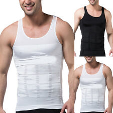Mens Slimming Body Shaper Abdomen Underwear Belly Corsets Tummy Sports Vest Hot